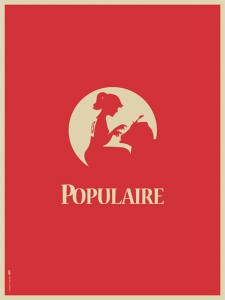 mademoiselle populaire_poster