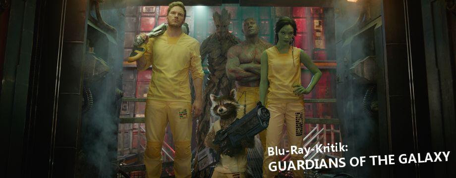 Guardians of the Galaxy - BD-Kritik