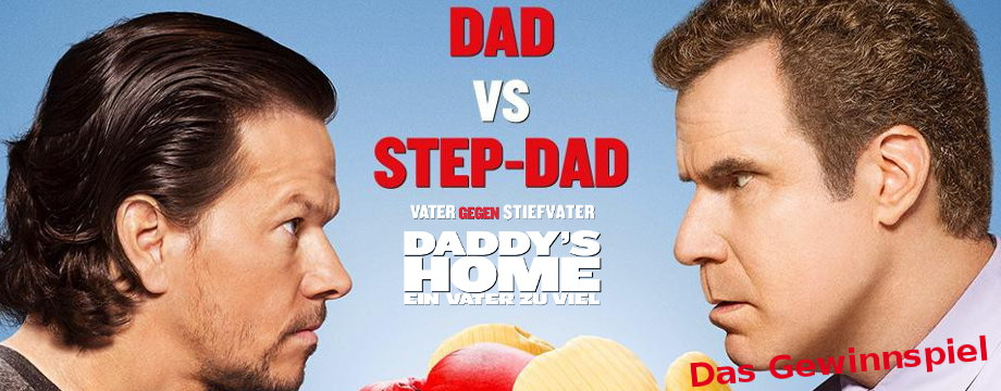 DADDY'S HOME-Gewinnspiel: Der Gewinner