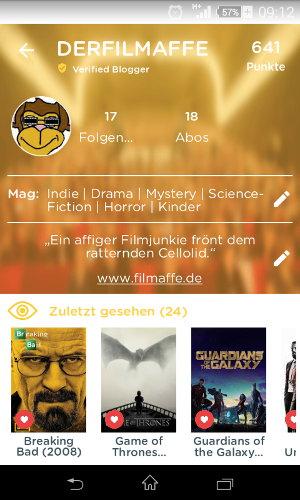 Krittiq: Cineastisches Netzwerk für Microblogger