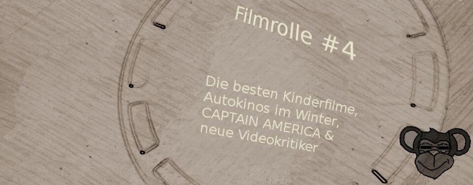 Filmrolle #4: Die besten Kinderfilme, Autokinos im Winter, CAPTAIN AMERICA und neue Videokritiker