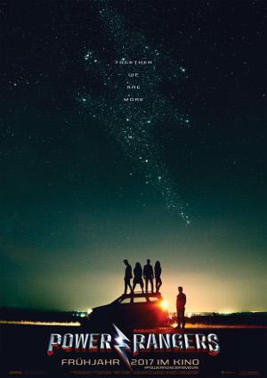 Power Rangers 2017 - Poster