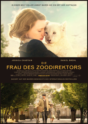 Die Frau des Zoodirektor - poster
