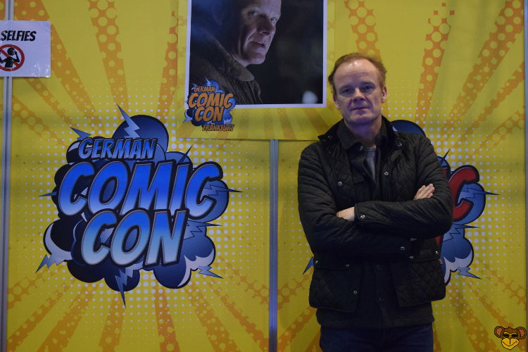 German Comic Con Frankfurt 2017 - Alistair Petrie