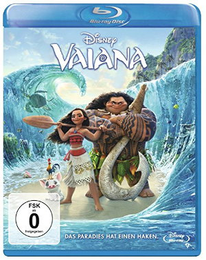 Vaiana/ Moana - Blu-Ray-cover