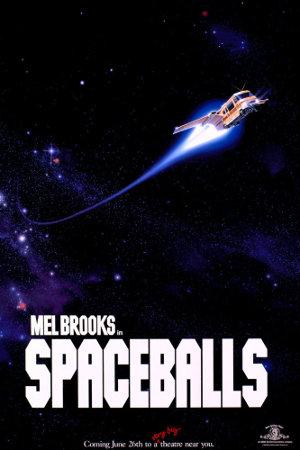 Spaceballs MGM - poster