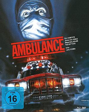Ambulance - 1990 - Blu-Ray Cover
