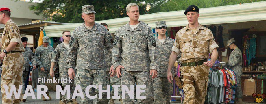War Machine - Review | Eine Militär-Satire von Netflix