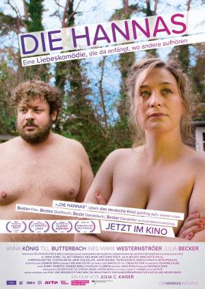 Die Hannas - Poster | Eine deutsche Komödie über eine Paar mit einer holprigen Beziehung