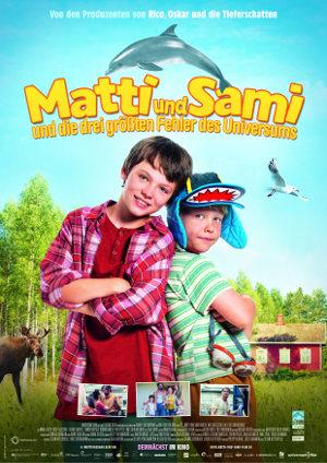 Matti und Sami und die drei groessten Fehler des Universums - Poster   Familienkomödie