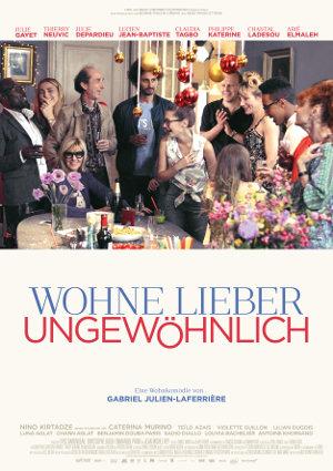 Wohne Lieber Ungewoehnlich - Poster   Komödie