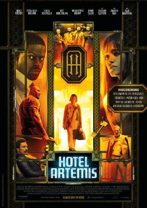 Hotel Artemis - Poster   Thriller