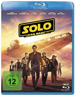 Solo - A Star Wars Story - BluRay-Cover | Ab jetzt im Handel