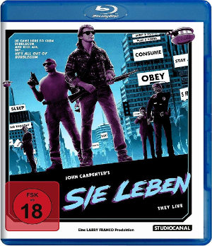 Sie Leben - They Live - Blu-Ray Cover