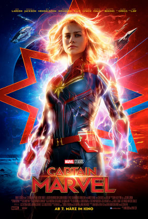 Captain Marvel - Poster   Science Fiction Comic Film