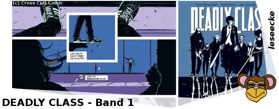 Deadly Class - Band 1 | im Handel erhältlich Cross Cult Comics